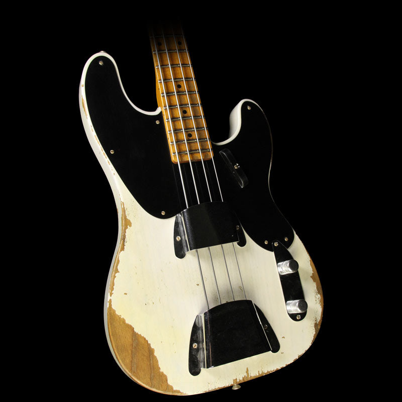 Fender Custom 1951 Roasted Precision Bass Heavy Relic Electric Bass Guitar Blonde