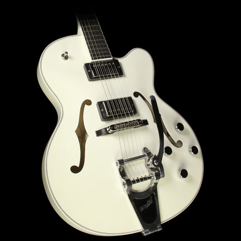 Used Hofner Thin President Semi-Hollow Electric Guitar Ivory
