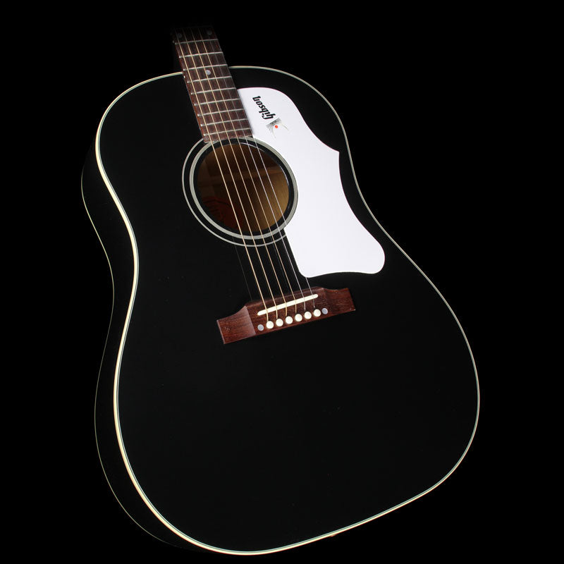 Gibson Montana 1960's J-45 Dreadnought Acoustic/Electric Guitar Ebony