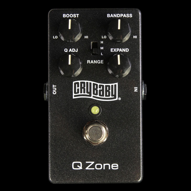 Dunlop Cry Baby Q Zone Fixed Wah Effects Pedal CSP030