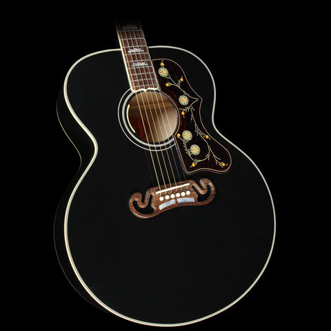 Gibson Montana SJ-200 Acoustic/Electric Guitar Ebony