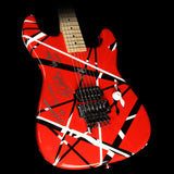 Used 2007 Charvel EVH Art Series Electric Guitar Red, White & Black