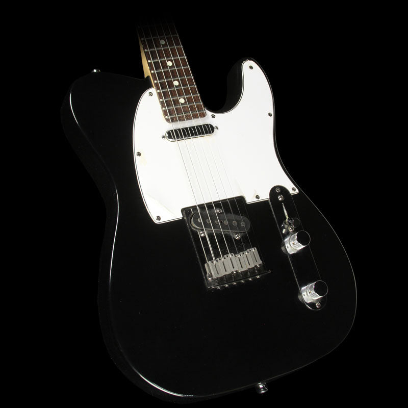 Used 1988 Fender American Standard Telecaster Electric Guitar Black