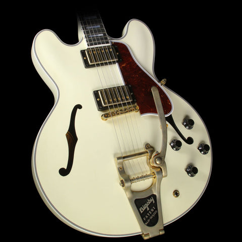 Gibson Memphis ES-355 Bigsby VOS Electric Guitar Classic White
