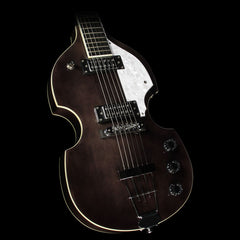 Hofner Ignition Violin Electric Guitar Black