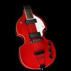 Hofner Ignition Violin Electric Guitar Red