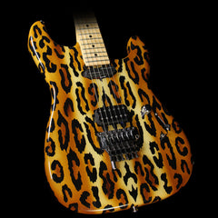 Used 2001 Wayne Electric Guitar Leopard Spots