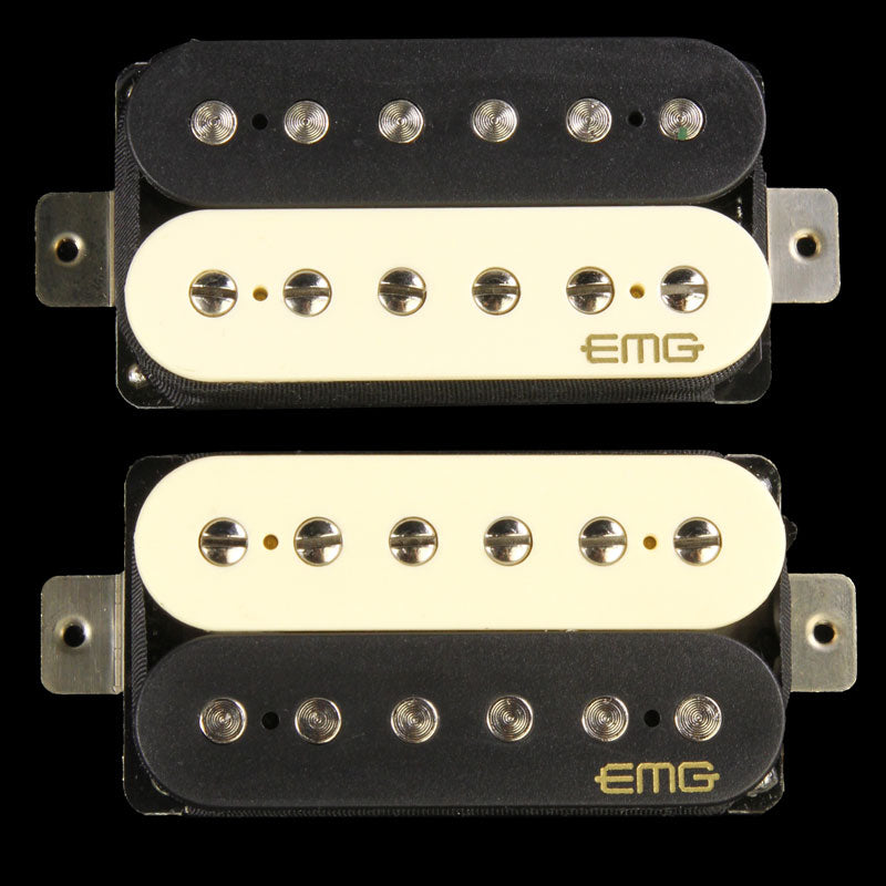 EMG Retro Active Fat 55 Humbucker Set Electric Guitar Pickup Set Zebra 5969.00