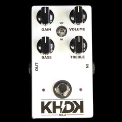 KHDK Electronics No. 2 Clean Boost  Effect Pedal