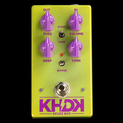 KHDK Electronics Scuzz Box Fuzz Effect Pedal