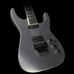 Used Jackson Custom Shop Soloist Electric Guitar Silver Sparkle