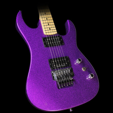 Used 2011 BC Rich USA Handcrafted Gunslinger Guitar GMW Refinished Purple Sparkle