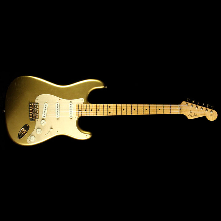 Used Fender Custom Shop 2017 Limited Edition Stratocaster Closet Classic Electric Guitar HLE Gold cz529982