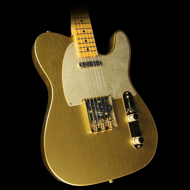 Used Fender Custom Shop 2017 Limited Edition Telecaster Closet Classic Electric Guitar HLE Gold cz529982