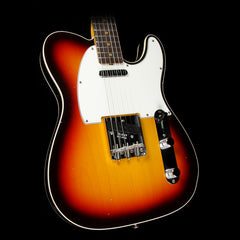 Fender Custom Shop '63 Custom Telecaster Relic Electric Guitar Chocolate 3-Tone Sunburst