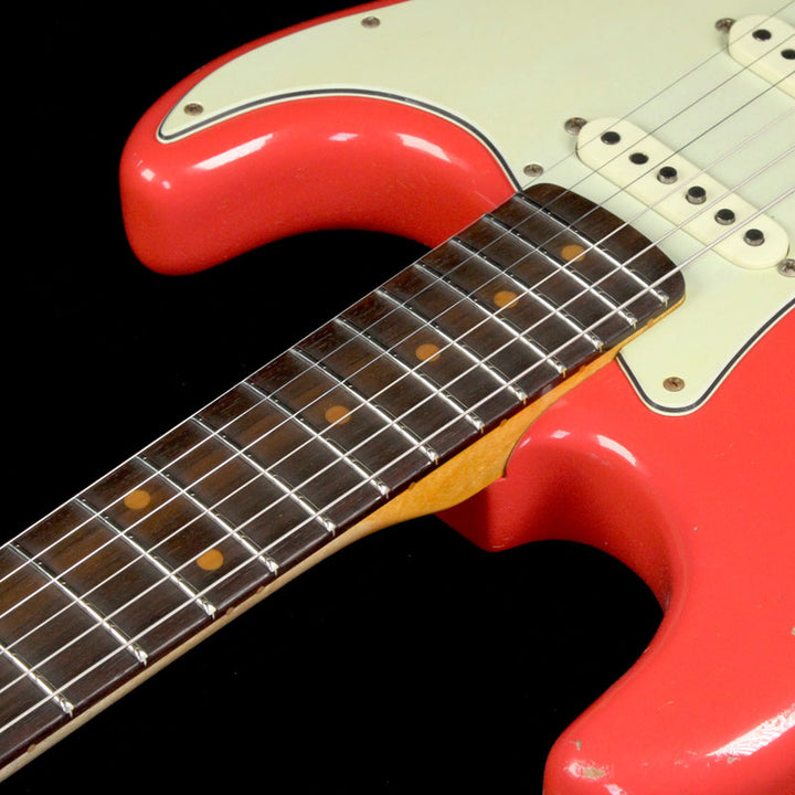 Fender Custom Shop '60 Stratocaster Relic Electric Guitar Aged Fiesta Red CZ531025