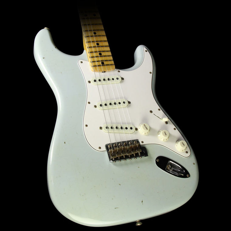 Fender Custom Shop 2017 Time Machine Series '69 Stratocaster Journeyman Relic Guitar Sonic Blue