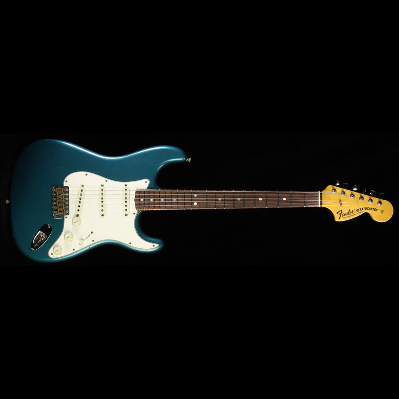 Fender Custom Shop 2017 Time Machine Series '69 Stratocaster Journeyman Relic Electric Guitar Aged Ocean Turquoise CZ531684