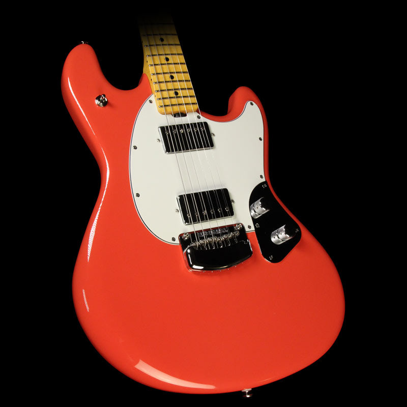 Ernie Ball Music Man Modern Classic Stingray Guitar Coral Red