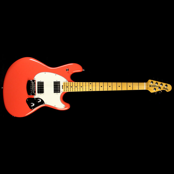 Used Ernie Ball Music Man Modern Classic Stingray Guitar Coral Red G83245