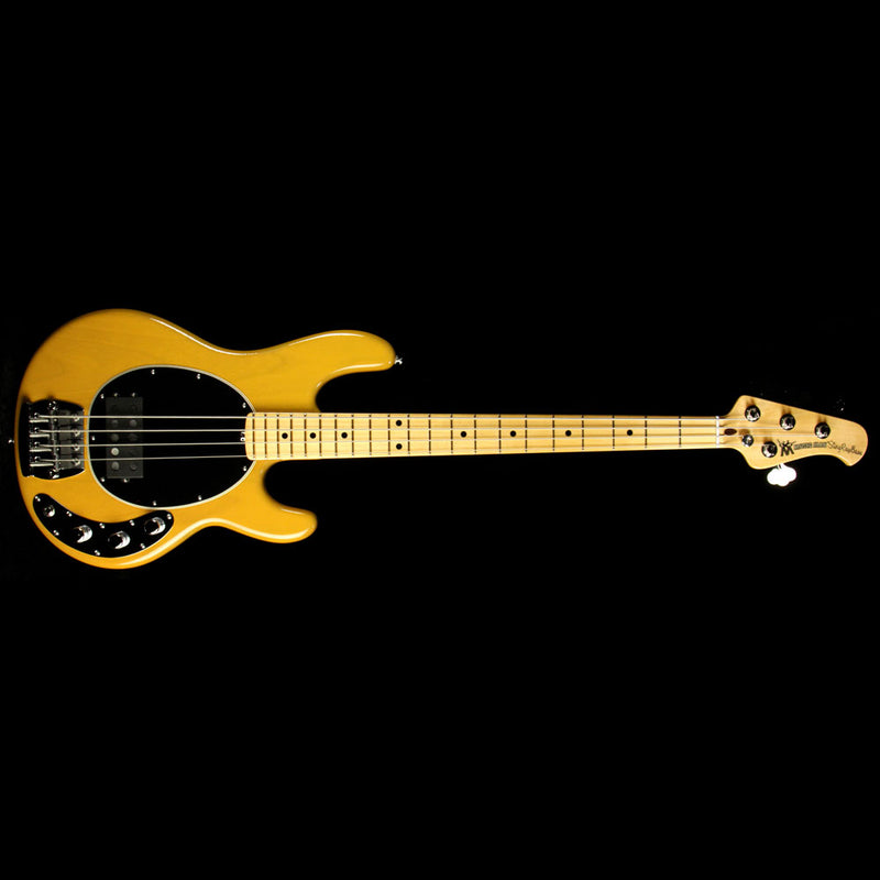 Used Ernie Ball Music Man 40th Anniversary StingRay Old Smoothie Electric Bass Butterscotch E99308