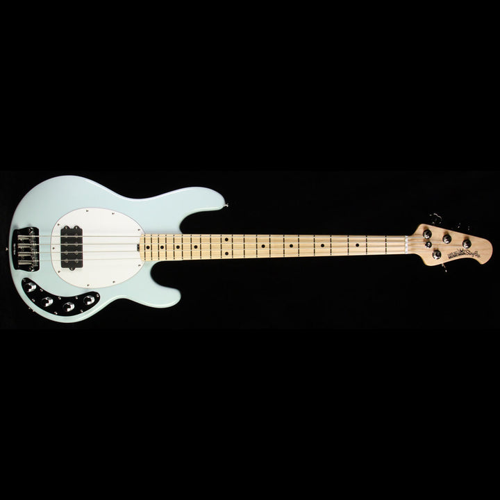 Used Ernie Ball Music Man Stingray 4-String Electric Bass Guitar Powder Blue E99935
