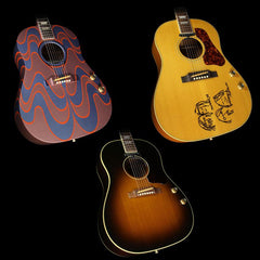 Used Gibson Montana John Lennon J-160E Collection Acoustic-Electric Guitar Set