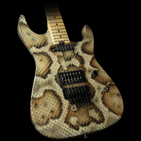 Used Charvel Custom Shop Warren DeMartini Signature Electric Guitar Snakeskin