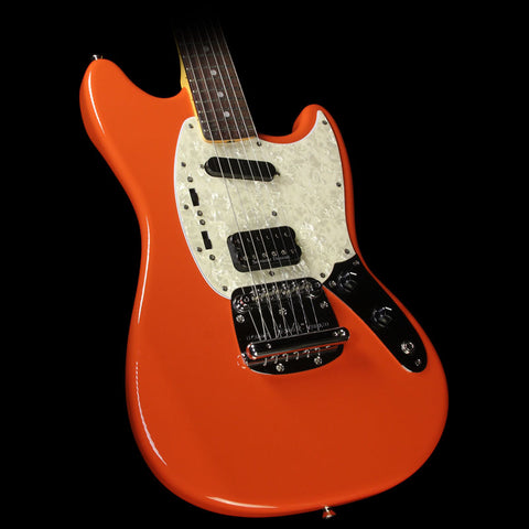 Used 2012 Fender Kurt Cobain Mustang Electric Guitar Fiesta Red