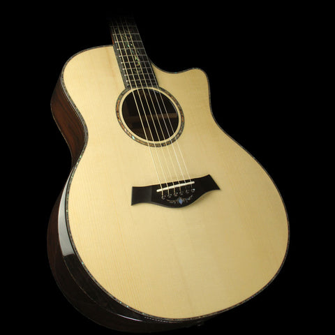 Used 2014 Taylor PS16ce Presentation Series Grand Symphony Brazilian Rosewood Acoustic/Electric Guitar Natural