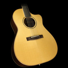 Used Huss & Dalton CM Cutaway Acoustic-Electric Guitar Natural