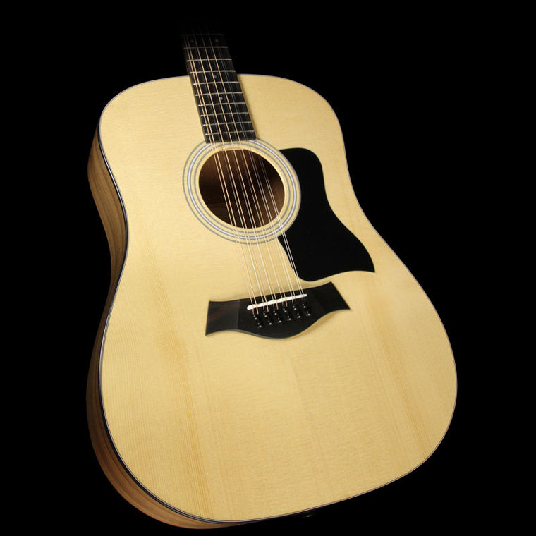 Used Taylor 150e Walnut Dreadnought 12 String Acoustic-Electric Guitar Natural