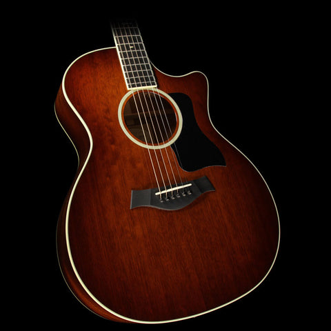 Used 2014 Taylor 524ce All-Mahogany Grand Auditorium Cutaway Acoustic-Electric Guitar Shaded Edgeburst