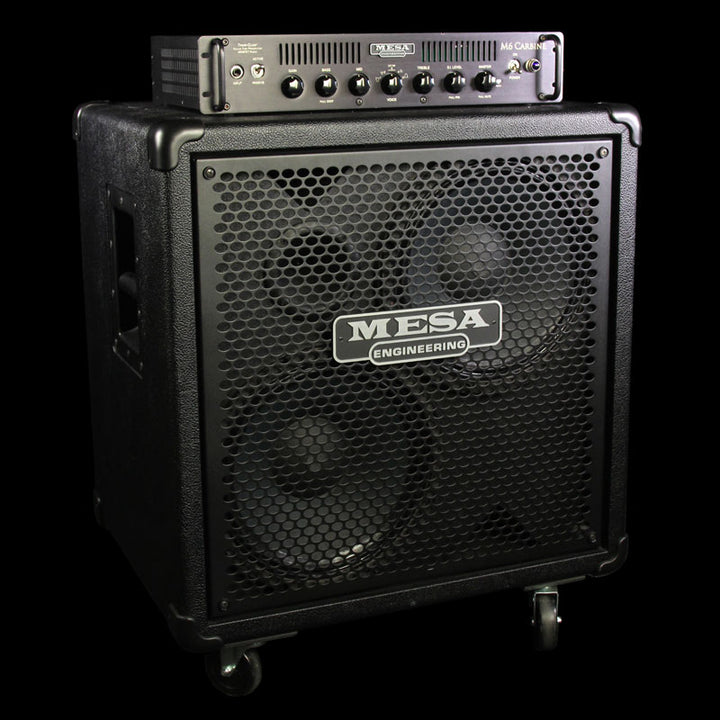 used mesa boogie m6 carbine amplfier head cabinet the music zoo. Black Bedroom Furniture Sets. Home Design Ideas