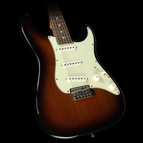 Used 2015 Suhr Scott Henderson Classic Electric Guitar 2-Tone Tobacco Sunburst
