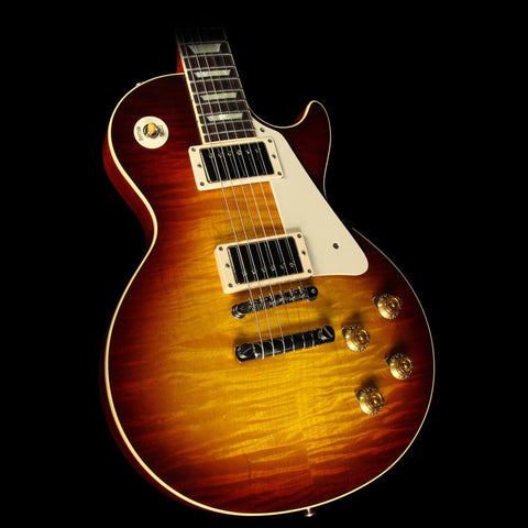 Used 2016 Gibson Custom Shop Standard Historic 1959 Les Paul Reissue Electric Guitar Bourbon Burst
