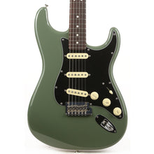 Fender American Professional Stratocaster Electric Guitar Antique Olive
