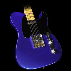 Used 2007 Fender Custom Shop '51 Nocaster Electric Guitar Refinished Cobalt Blue Relic