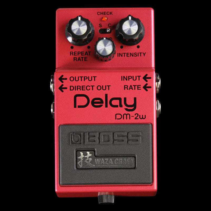 Boss DM-2W Waza Craft Analog Delay Pedal