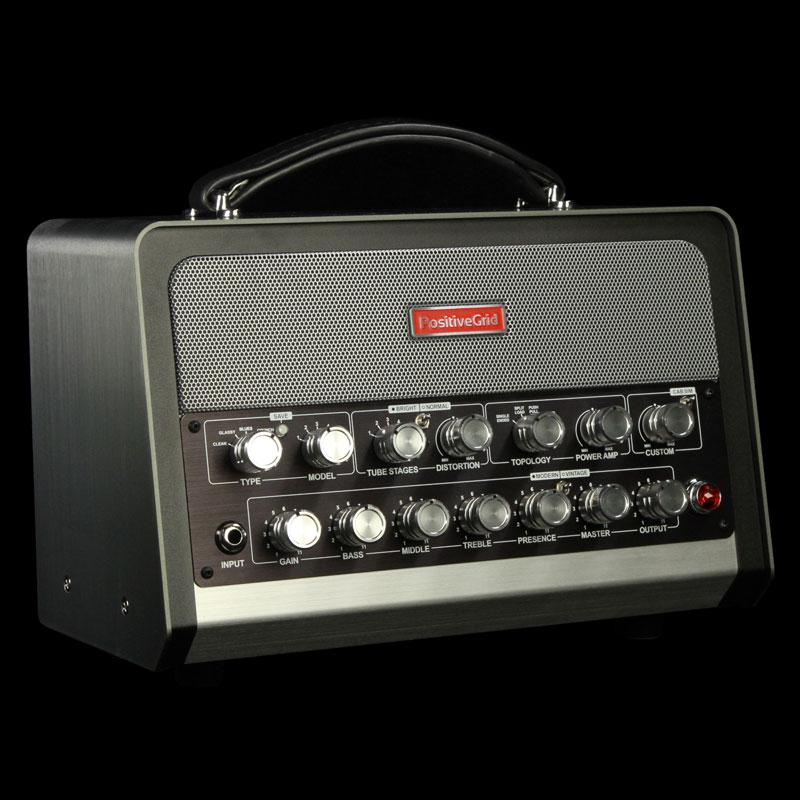 Used Positive Grid BIAS Head Amp Matching Guitar and Bass Amplifier PG-BIAS Head