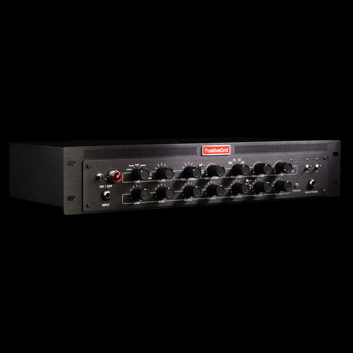 Used Positive Grid BIAS Head Processor Amp Matching Guitar and Bass Amplifier PG-BIAS Rack DSP