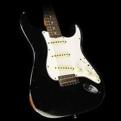 Used 2015 Fender Custom Shop '60s Roasted Ash Stratocaster Electric Guitar Black