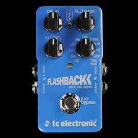 TC Electronics Flashback Delay & Looper Stompbox Effect Pedal