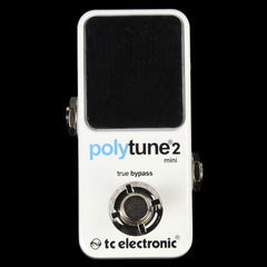 TC Electronic PolyTune 2 Mini Chromatic Tuner