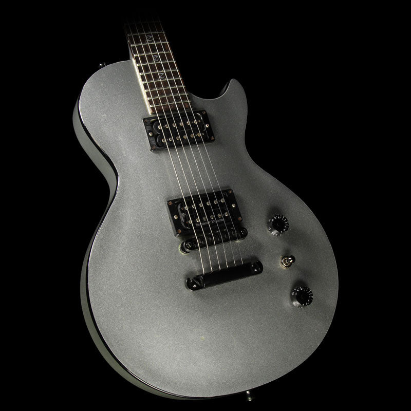 Used Jackson Custom Shop Joey Z Signature Electric Guitar Silver