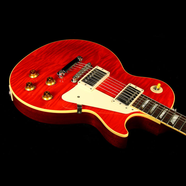 Used 1998 Gibson Custom Shop 1958 Les Paul Reissue Electric Guitar Sweet Cherry 88041
