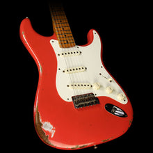 Used 2015 Fender Custom Shop '59 Roasted Ash Stratocaster Heavy Relic Electric Guitar Fiesta Red