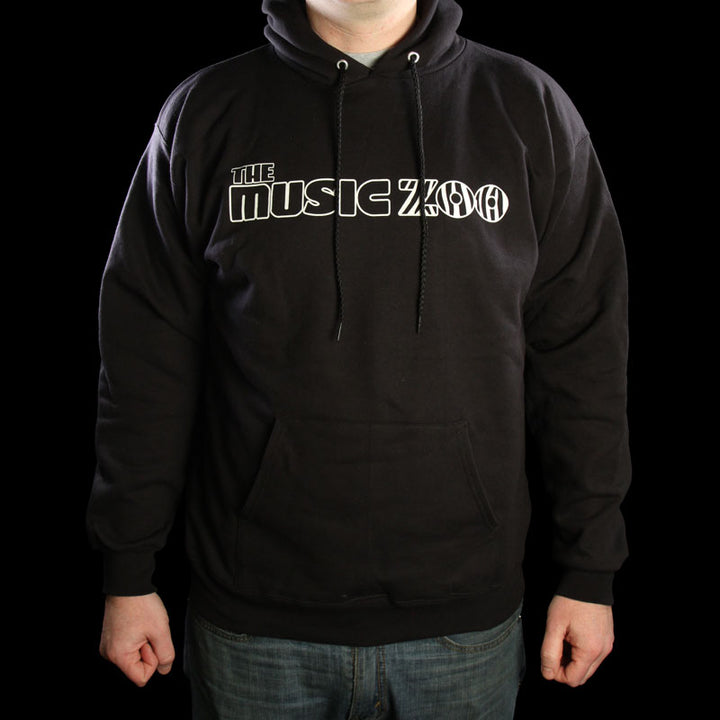 The Music Zoo Logo Pullover Sweatshirt Black