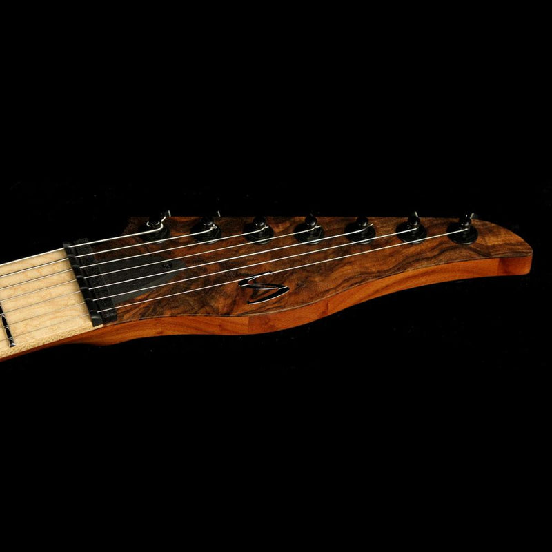 Skervesen Tamandua 7-String  Natural Satin with Inlaid Walnut Pickguard