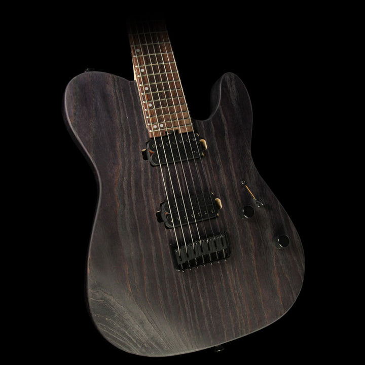 Used Charvel Pro Mod San Dimas Style 2-7 HH 7-String Electric Guitar Charcoal Gray 2963351574